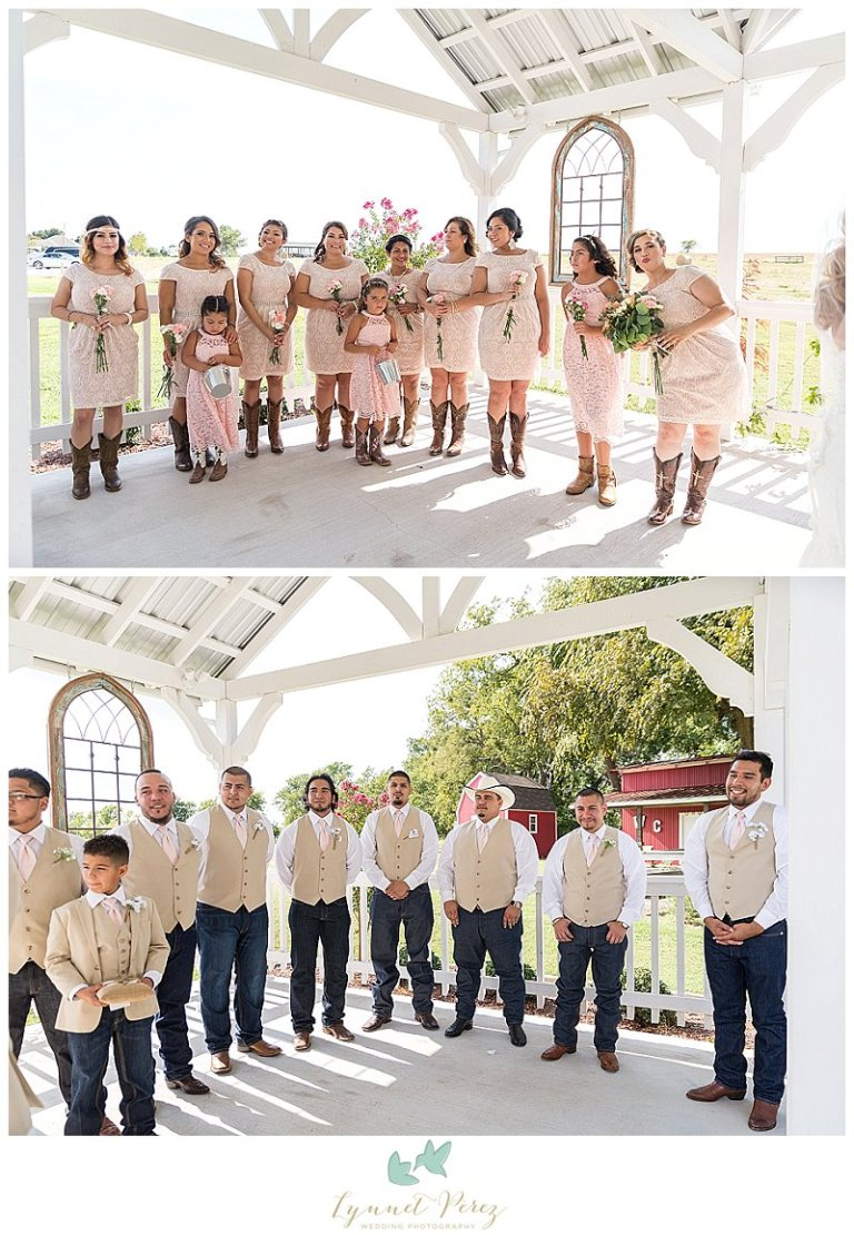 dallas-wedding-photographer-bridal-party-during-ceremony