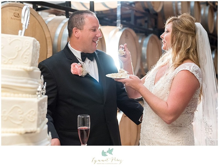 fort-worth-wedding-photographer-los-pinos-ranch-vineyards-bride-groom-cutting-the-cake