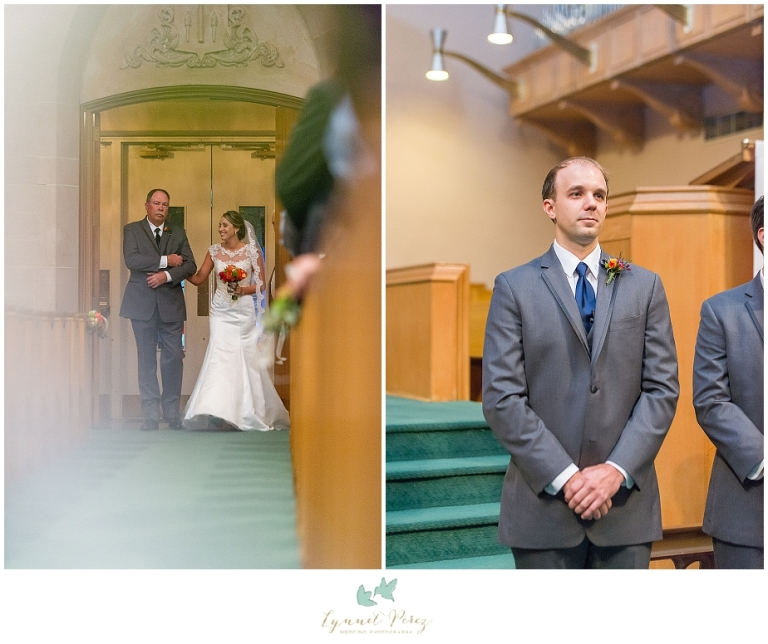 wedding-ceremony-bride-walking-the-aisle-at-kessler-park-united-methodist-church