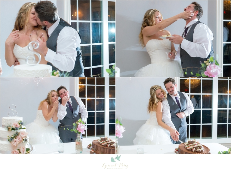 bride-and-groom-cutting-the-cake-wedding-reception