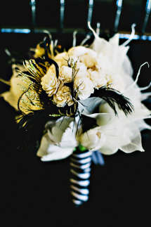 black-gold-wedding-floral-bouquet