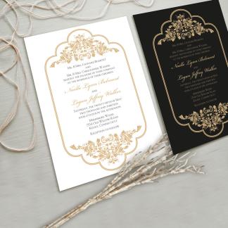 black-gold-wedding-invitation