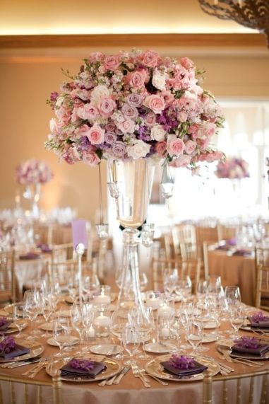 lavender-and-pink-wedding-floral-decor ideas