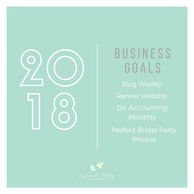 2018 BUSINESS GOALS